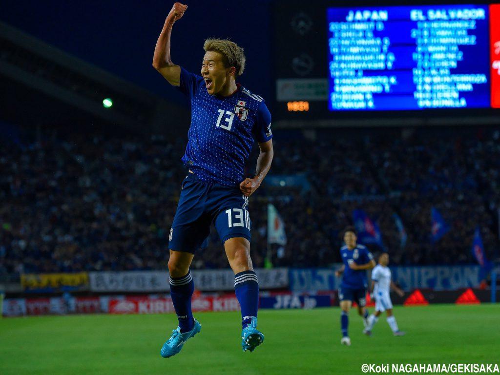 九国サッカー部ob 永井謙佑選手 日本代表戦 勝利に貢献 九国大付属高校サッカー部
